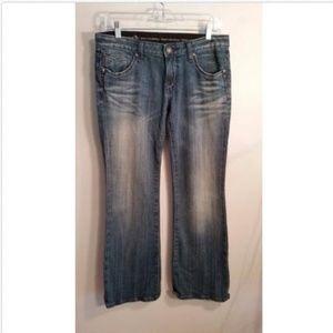 Express Rerock Boot cut jeans Size 29 X 30 Blue